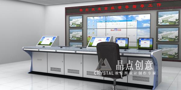 效果图制作 机房效果图制作 - 建筑 - 北京室内设计网