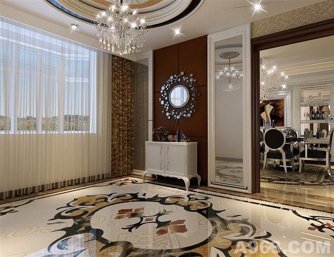 欧式风格设计 - 家装设计 - 北京室内设计网_北京室内图片