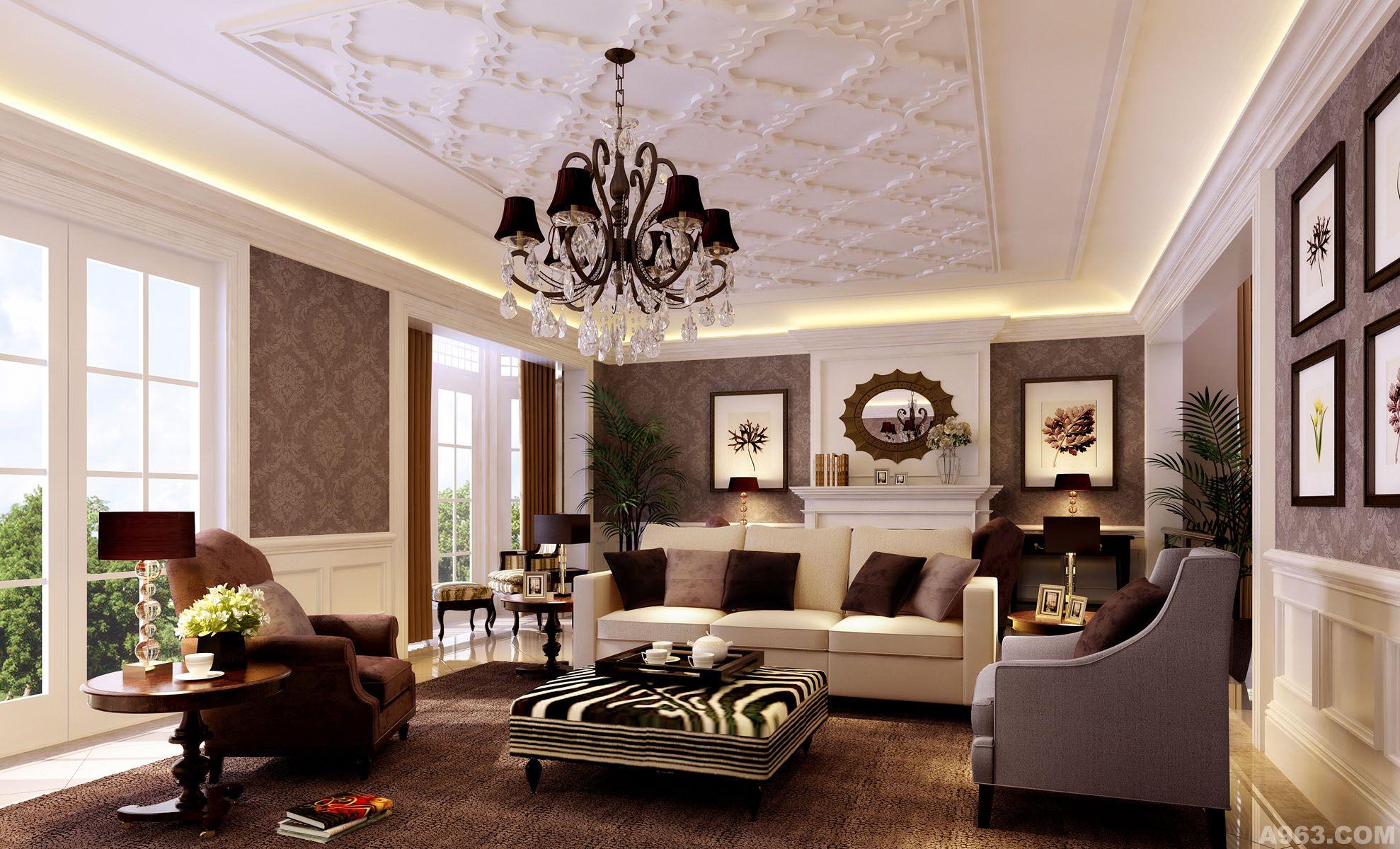 欧式风 - 别墅豪宅 - 北京室内设计网_北京室内设计