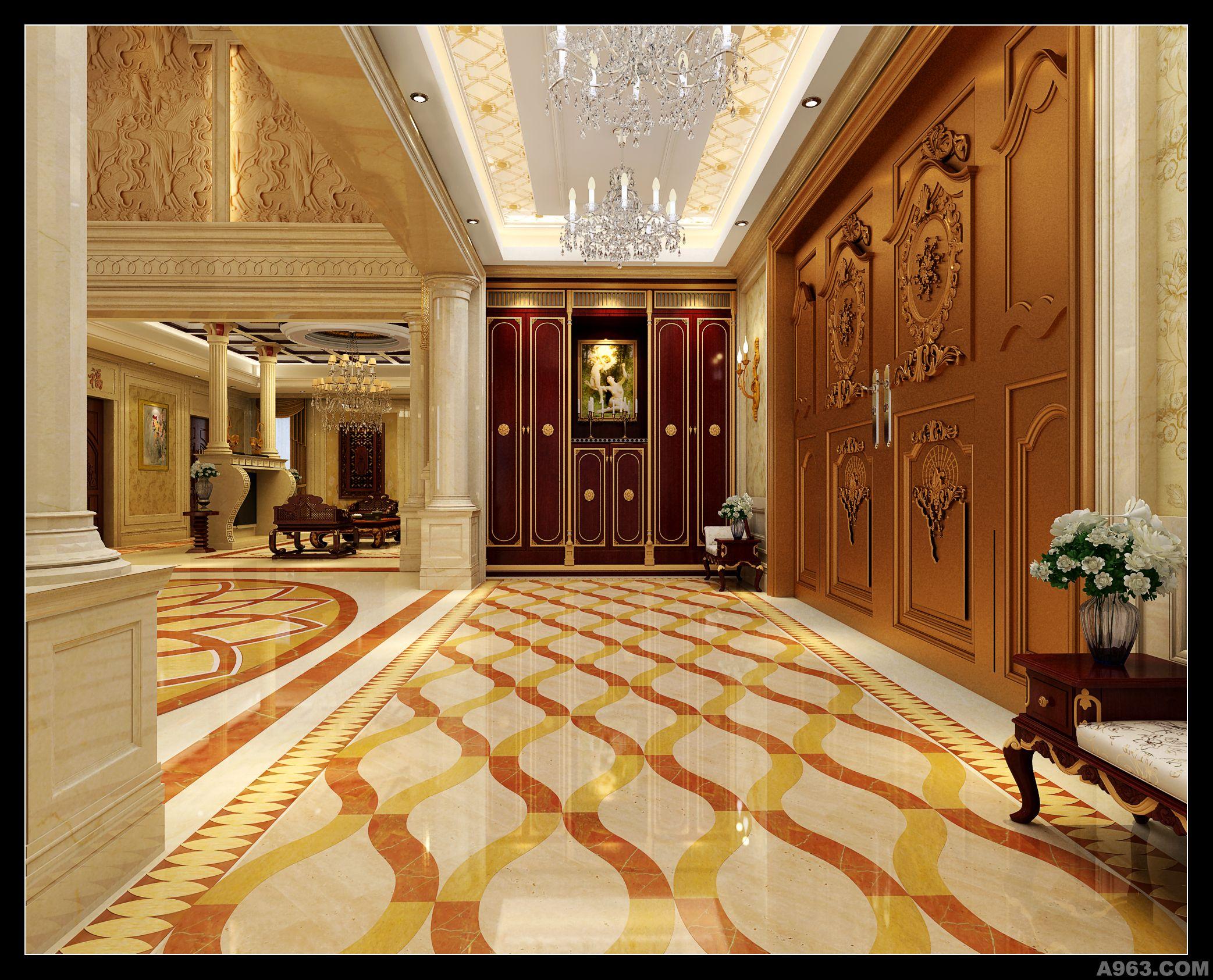 李擎精彩演绎欧式新古典主义别墅说明
